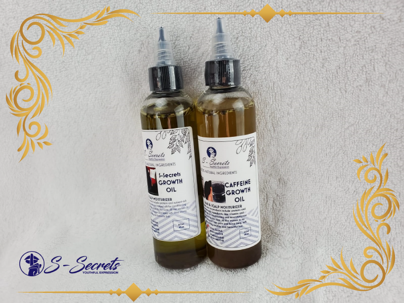 Read more about the article Caffeine Growth Oil & S-Secrets Growth Oil